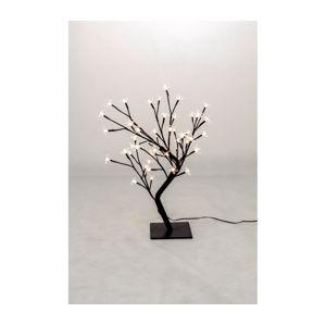 Stromček s kvetmi 48 LED - teplá biela