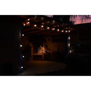 Svetelná párty reťaz 50 LED - studená biela