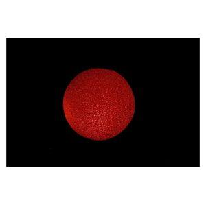 Vianočná guľa LED 12 cm - farebná
